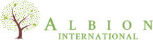 Albion International Sticky Logo