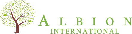 Albion International Sticky Logo Retina